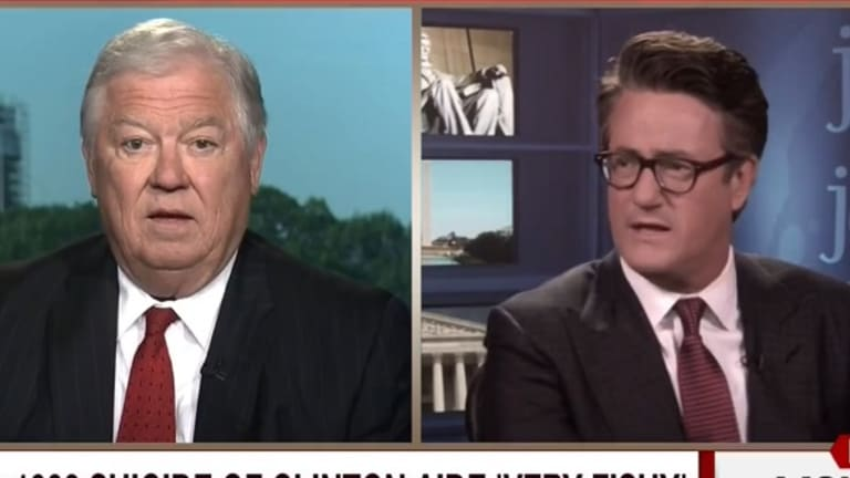 "This Republican Went on MSNBC and Said ""I Have No Idea"" if The Clintons Are Murderers"