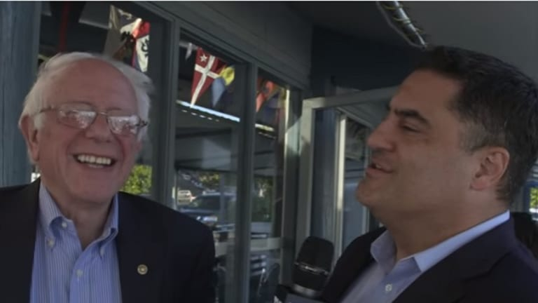 The Young Turks' Cenk Uygur Says He's Not Biased For Bernie Sanders