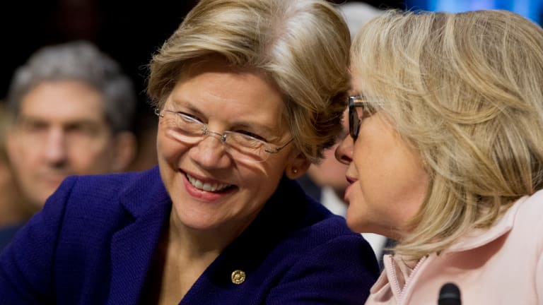 Harry Reid Agrees: Elizabeth Warren Totally Makes Sense as Hillary's Running-Mate
