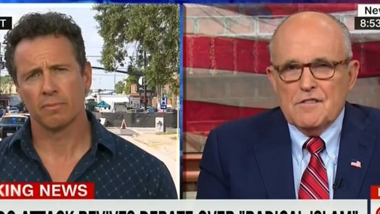 Watch Rudy Giuliani And His Radical Islam Talking Point Get OWNED By Chris Cuomo