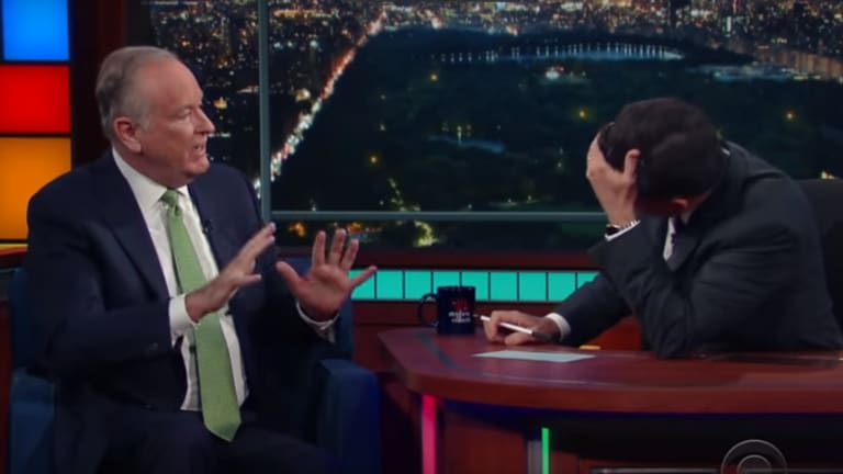Pro-Gun Republicans Are Running Out of Words, and Bill O'Reilly Proved It on Colbert's Show