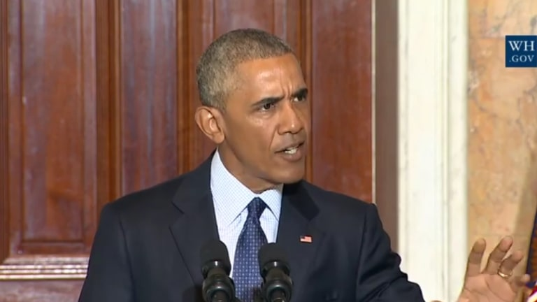Beautiful: President Obama Says 'Radical Islam' Right Up Republicans' Collective Ass