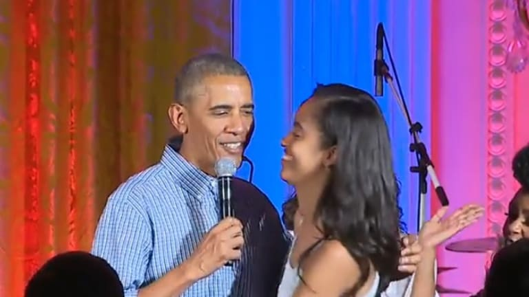 This Is The Most Adorable 53 Seconds of Obama's Presidency