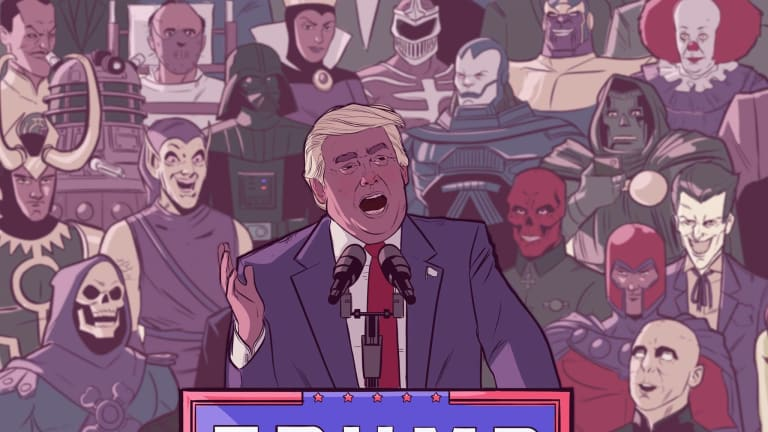 Trump Proves Once Again That He's a Cartoon Supervillain, Plotting to Vanquish His Enemies