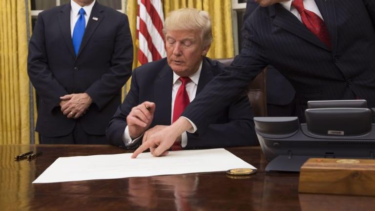 Every Executive Order Trump Signed on Monday Was Total Horsesh*t