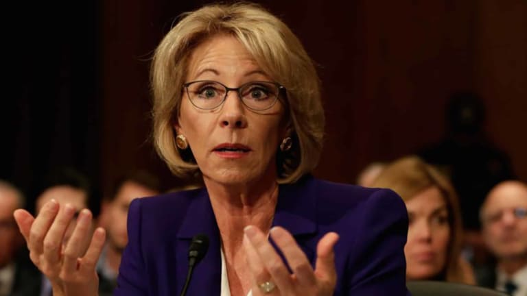 MEMBERS ONLY: Betsy DeVos And The Holy War Against Public Education