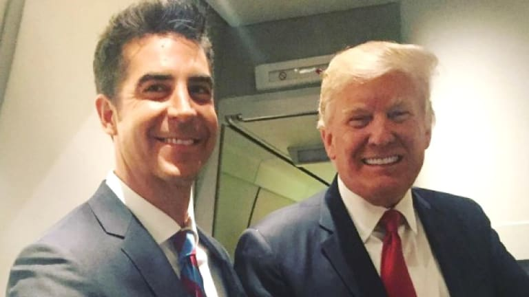 Trump and Jesse Watters Play the Helpless Victims of Maddow's Tax Return Report