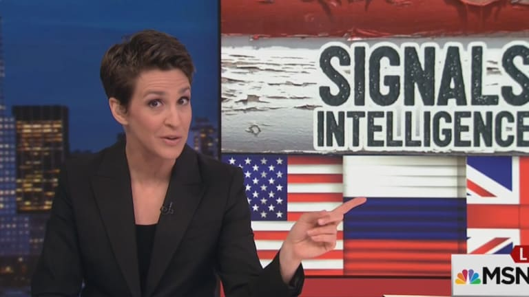 'The Intercept' Goes to War Against Rachel Maddow's Investigative Reporting on RussiaGate