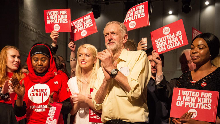 Jeremy Corbyn Puts the British Establishment on Notice With Astonishing Comeback