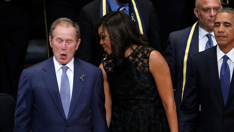 Please Do Not Start Romanticizing George W. Bush
