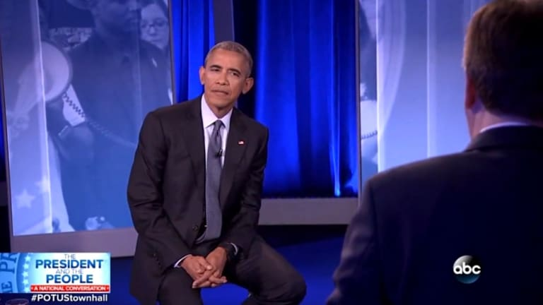 Watch Obama Smack Down Republican Dick Who Accuses Him of Being Anti-Cop