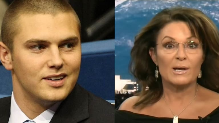 Thanks Obama! Sarah Palin's Son Track Palin Pleads Guilty To Gun Charge From Domestic Violence Call