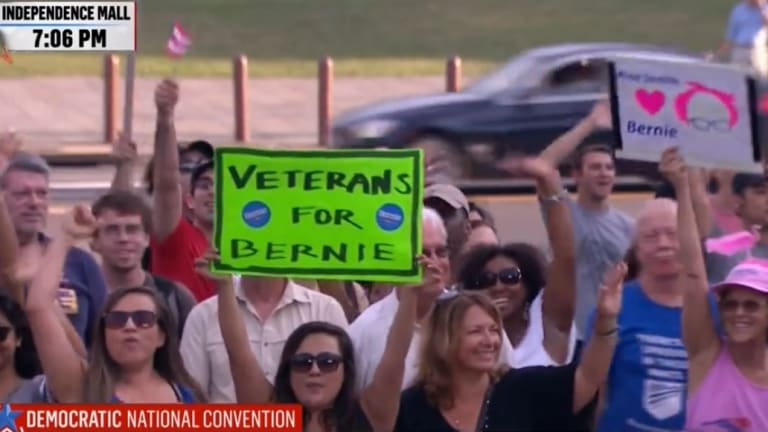 "WATCH: Bernie Fans Chanting ""Lock Her Up"" Are Now Officially Just Like Donald Trump Fans"