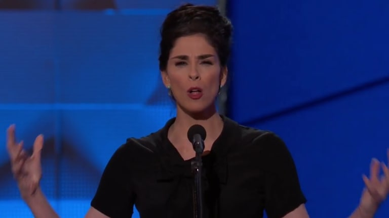 "Sarah Silverman TORCHES Bernie or Bust-ers at DNC: ""You're Being Ridiculous!"""