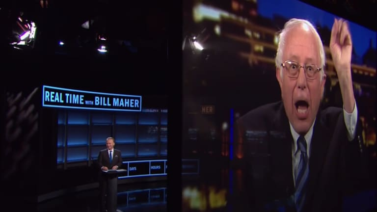Wait, WHAT? Bill Maher Compares Bernie Sanders' Clear Loss to Bush v. Gore
