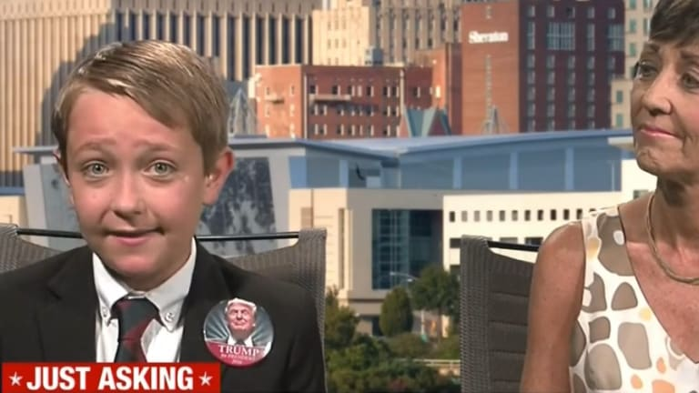 Do Not Hate This Pro-Trump Kid No Matter How Much You Want To
