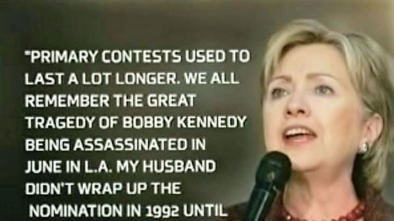 Hillary Clinton Made An Assassination Remark, Too, and the Media Freaked the F*ck Out