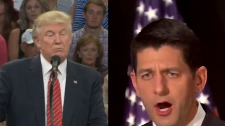 Paul Ryan Fully Believes Donald Trump Joked About Assassinating Hillary Clinton, and Still Supports Him