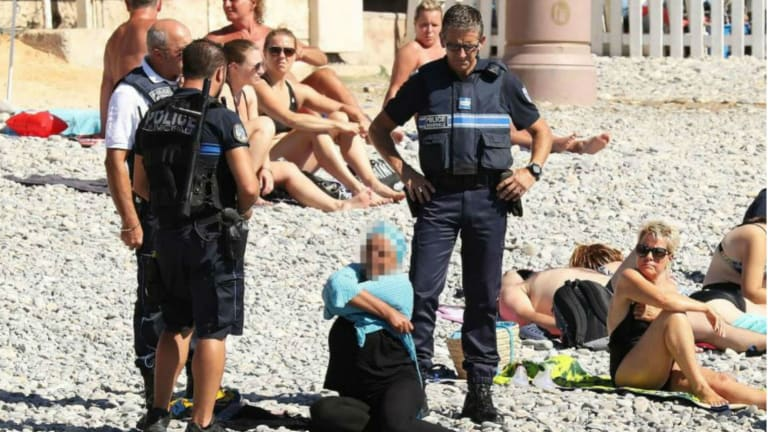 We Can Condemn Anti-Burkini Laws Without Defending Islam and its Religious Misogyny