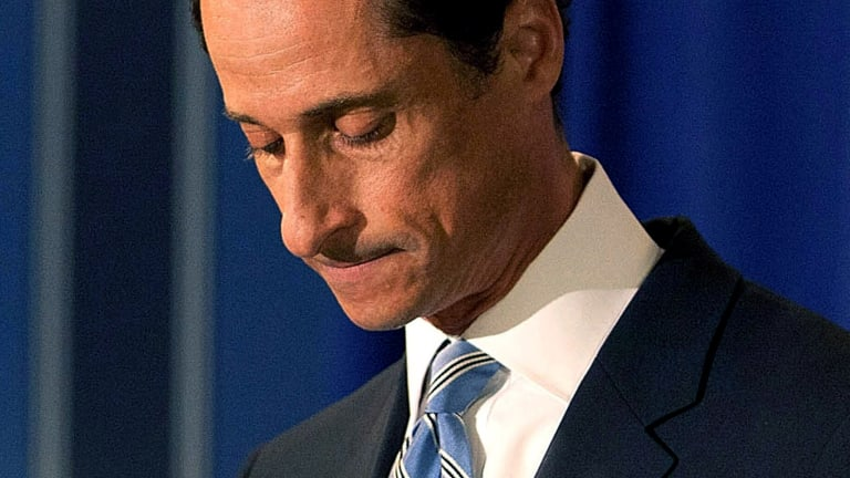 Anthony Weiner Was Caught Sending More Naked Pics of Himself, Overshadowing Even the Dumbest Trump Headlines
