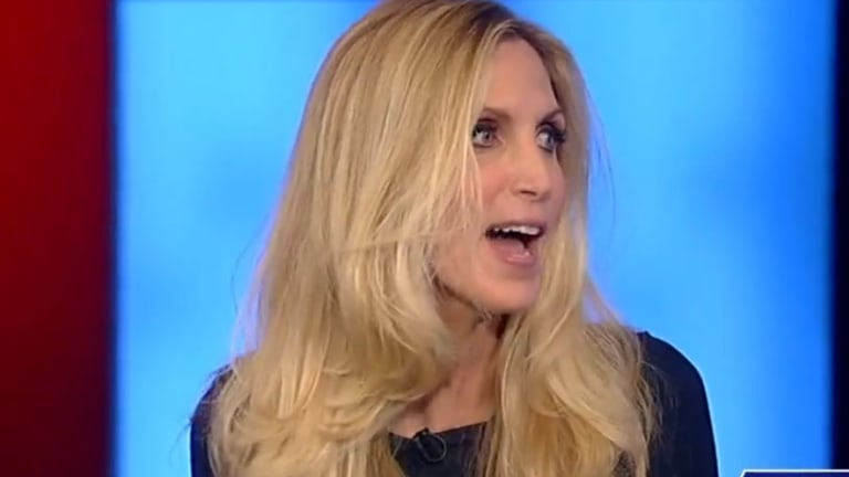 Watch Ann Coulter Explain Why She Invited a Black Uber Driver to a Breitbart Party