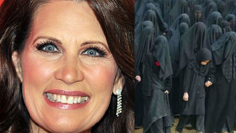 MEMBERS ONLY: Michele Bachmann's Trump Remarks and How the Left Still Doesn't Get Why Burkas Are Oppressive