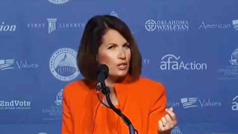 """Let's All Laugh at Michele Bachmann Saying Hillary Should Be """"In Time, Doing Jail!"""""""