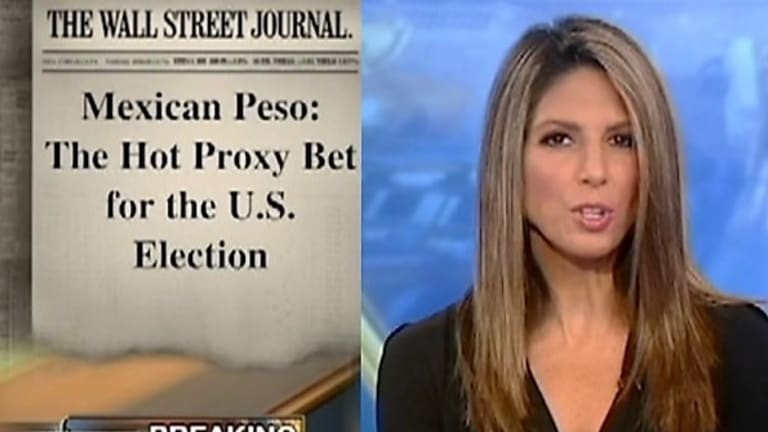This Happened: Fox Claims Hillary's Debate Win Over Trump Strengthened the Mexican Peso