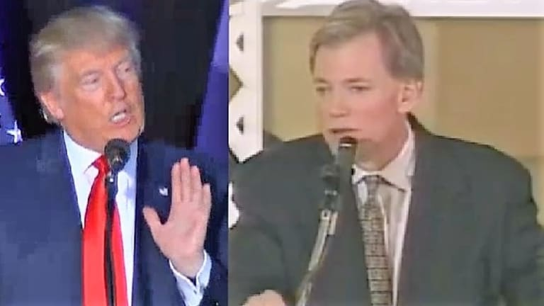 "This Says It All: David Duke Calls Trump ""Our Candidate, He's All We Have for the Presidency"""