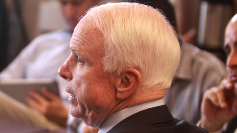 John McCain is Responsible For Donald Trump