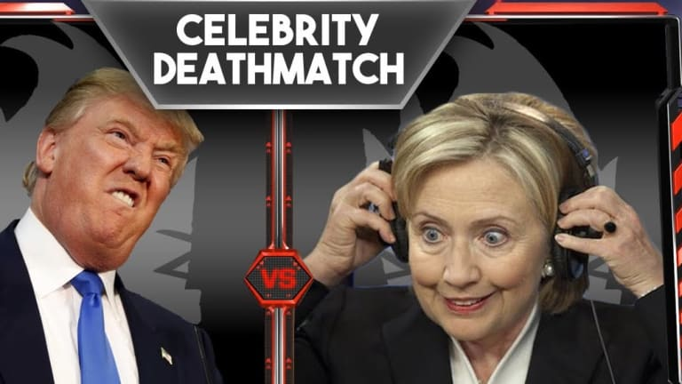 Hillary Clinton vs Donald Trump Death Match Pt 3 Live Coverage!
