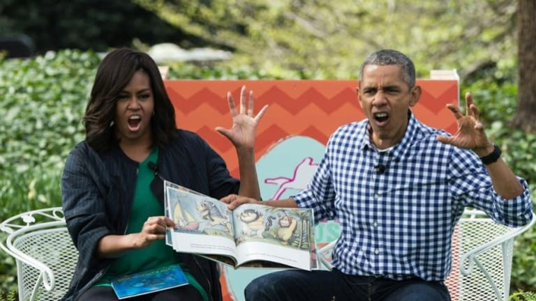 Political Scientists Baffled at Pictures of Obamas Reading to School Children
