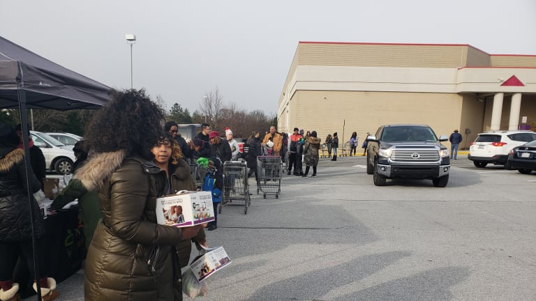 MEMBERS ONLY: I Stood On Line At A Food Bank For The First Time. Why Should I Feel Humiliated?