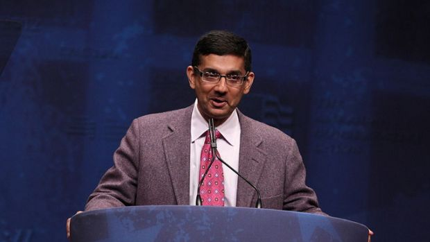 becoming american dinesh d souza Dinesh d'souza has had a prominent career as a writer, scholar, and public intellectual, and has also become a renowned filmmaker with his top-grossing documentaries 2016: obama's america, america.