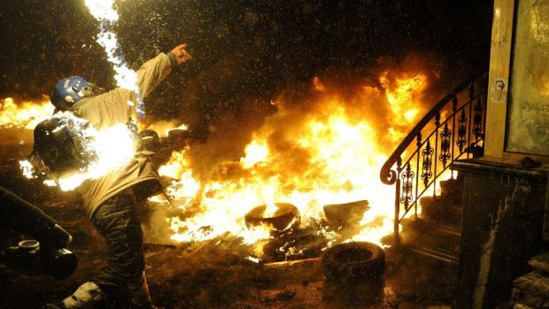 kiev_man_on_fire