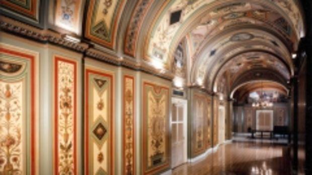capitol hallway