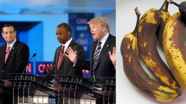 GOP rotten bananas