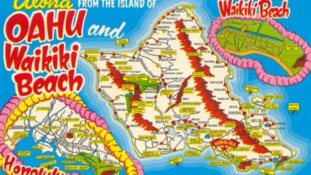 waikiki_postcard