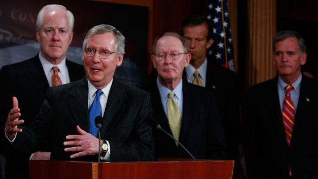 Mitch+McConnell+R+KY+Senate+Republicans