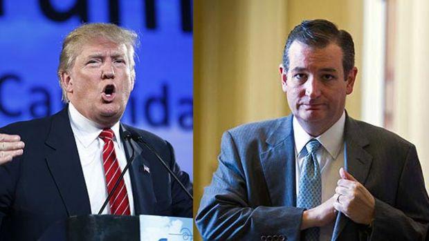 Ted Cruz vs Donald Trump