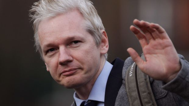 Julian+Assange+Appears+Court