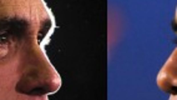 Romney vs Obama resized