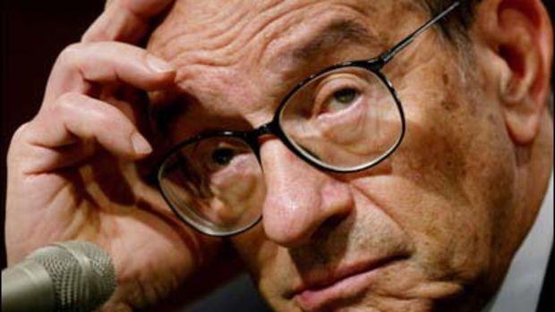 Alan Greenspan by trackrecord.