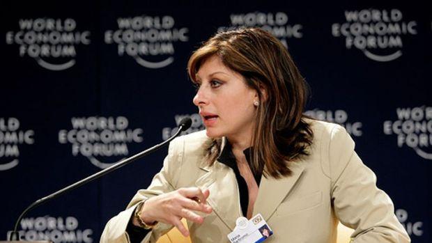 Maria Bartiromo - World Economic Forum Annual Meeting Davos 2007 by World Economic Forum.