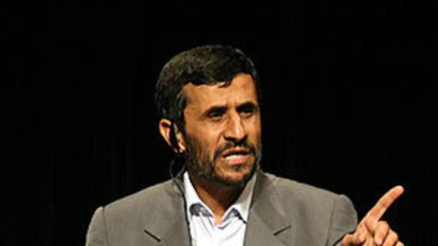 English: President of Iran @ Columbia University.