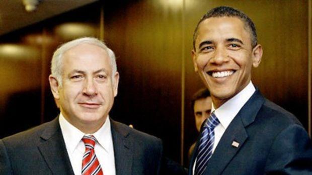 Obama Netanyahu by Floyd Brown.