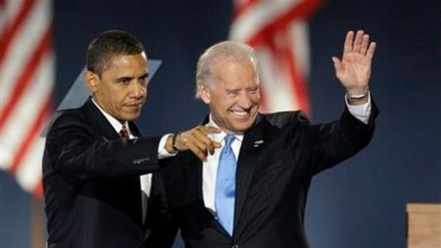 Our New President of United States of America President Barack  Obama and Vice president Joe Biden by Haneybabe.