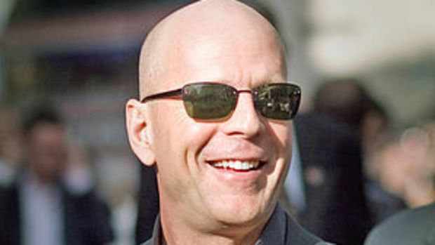 Bruce Willis at a Live Free or Die Hard (Die H...
