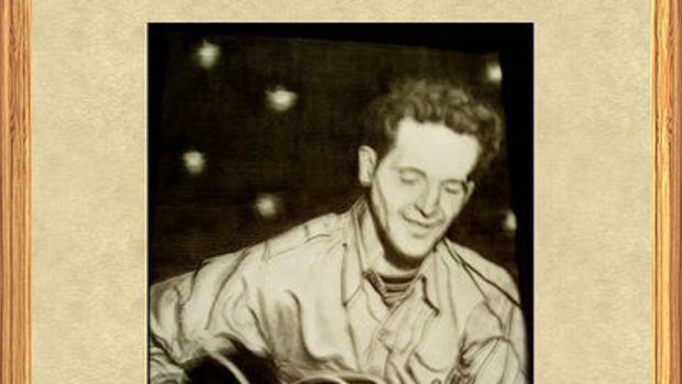 Woodie Guthrie by naturesshadowdancer.