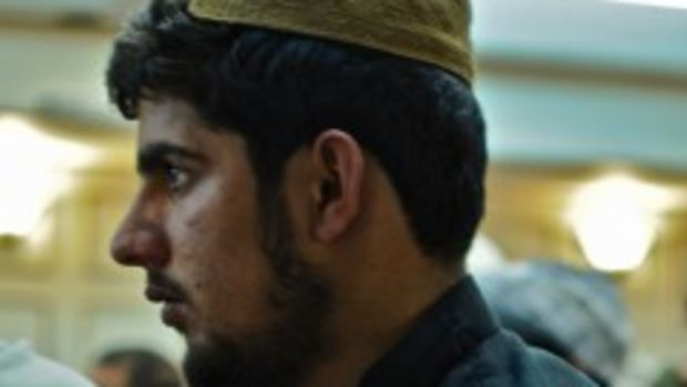 Tariq Aziz at Jirga/ Neil Williams/Reprieve